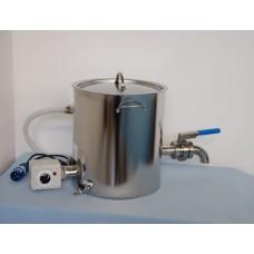 Duplafalú, elektromos lekvárfőző csappal - 24-60 l